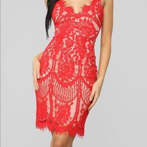 Lovely In Lace Fashion Nova Dress